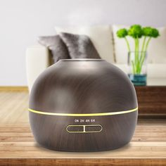 Amazon.com: hysure Small Portable Diffuser for Essential Oils Baby Humidifier with Wood Grain Air humidifier for Kids, Home, Room, Spa, Desktop and Whole house, Deep: Home & Kitchen