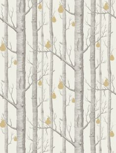 Cole and Son's Woods and Pears  in grey