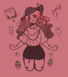 Witchsona Week by Lil-Drea.deviantart.com on @DeviantArt