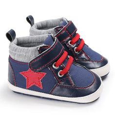 a1f2ac21fcf1 Raise Young Spring Autumn Canvas Baby Shoes Allstar Cotton Soft Soles  Toddler Boy First Walkers Newborn Infant Girl Sneakers