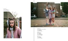 INDIE MAGAZINE - photographed by Anya Holdstock, styling Olimpia Liberti