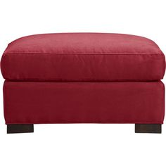 Axis Ottoman in Ottomans, Cubes | Crate and Barrel