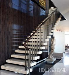 Carlos Aparicio Skyscraper Staircase | Photo Gallery: Brian Gluckstein's Favourite Spaces | House & Home | Photo by William Abranowicz via Architectural Digest