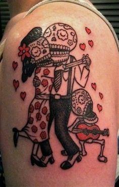 Los Muertos tattoo