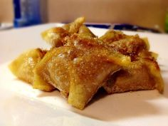 Cinnamon Cream Cheese Wontons Recipe