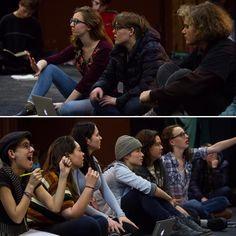 interlochenarts Working through scenes with Idyllwild Arts Academy actors. • Idyllwild, CA • #idyllwild #IdyllwildArts #InterlochenArts #Interlochen