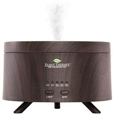 Plant Therapy Aromafuse Aromatherapy Essential Oil Diffuser 380 Ml, Wood-grain Premium, Quiet, Atomizing Humidifier Best Essential Oil Diffuser, Best Essential Oils, Oils For Relaxation, Plant Therapy, Led Night Light, Humidifier, Health And Wellbeing, Wood Grain, Aromatherapy
