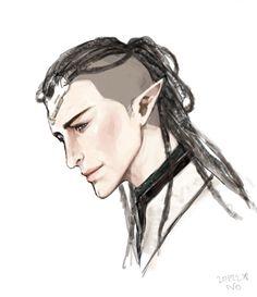 Elven Queen, Dragon Age Characters, Grey Warden, Dragon Age Inquisition, Elves, Fan Art, Tarot, Video Games, Nerd