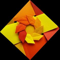 Mandala Folhas de Outono - Carla Onishi