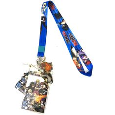 Fairy Tail: Group Lanyard with ID Badge Holder & Metal Natsu Charm Fairy Tail Anime, Id Badge Holders, Season 7, Charmed, Group, Fairy Tale Anime