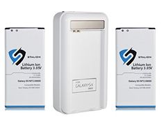nice Stalion Power [Lifetime Warranty] 2x Replacement Li-Ion 2800mAh Batteries with [Stalion Power Travel Charger] for Samsung Galaxy S5 4G LTE HD SM-G900F, SM-G900H (Unlocked), SM-G900A (AT&T), SM-G900TR (MetroPCS), SM-G900P (Sprint), SM-G900T (T-Mobile), SM-G900R (U.S. Cellular), SM-G900V (Verizon)
