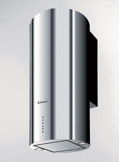 Hotte de cuisine murale / avec éclairage intégré / design original CDT 61X 40 Candy