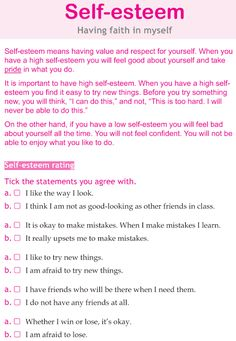 Ms. Sepp's Counselor Corner: Body Image & Self Esteem in Girls 6th grade lesson