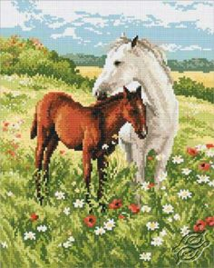 Tenderness - Cross Stitch Kits by RTO - M326