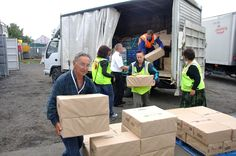 Relief organizations Services