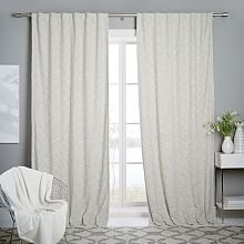 Contemporary Window Curtains and Hardware | west elm