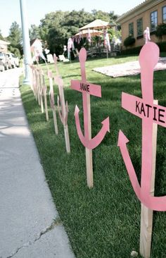 could definitely do these with diamonds! Follow the diamonds to ADPi! Could be a great walkway