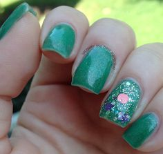Lacquer: The Best Medicine!: Sweet Heart Polish: Swatches & Review