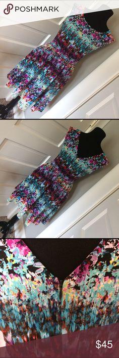"Cynthia Rowley Dress Measures 18"" across bust and elastic 15""-17"" in the waist. EUC! Pockets! Cynthia Rowley Dresses"
