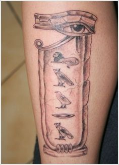 35+ Amazing Egyptian Tattoo Designs