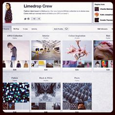 Check out the #Limedrop #Pinterest. We've added some of things that inspire   Photo by limedrop • Instagram