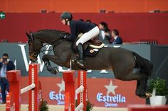 "thelegalequestrian: "" Lillie Keenan & Be Gentle, Madrid Horse Week CSI2. PC: Herve Bonnaud """