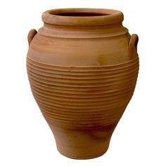 Handmade terracotta pottery from Greece. Other custom finishes, including antiqued available. Items are handmade so may vary in size, texture and color.