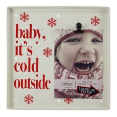 Fetco ''Baby It's Cold Outside'' Light-Up 4'' x 6'' Frame