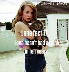 Lana Del Rey #LDR #fact 17