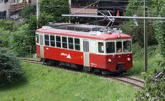 mvr-bdeh-2-4-73-gps-blonay-bc MVR BDeh 2/4 73 -- Blonay -- 06.07.2010 -- Première automotrice à circuler avec le logo Goldenpass Train Suisse, Trains, Vevey, Vehicles, Miniature, Logo, Electric Train, Photography, Iron