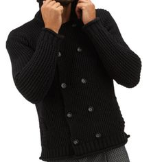 A strategic #clothing for men to create an impeccable casual-chic style is the #knitwear.