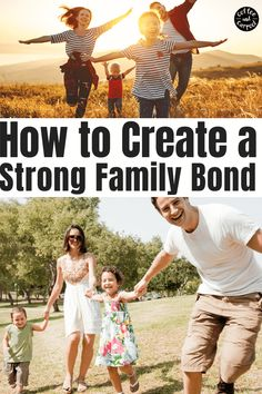 How to Build a Strong Family Identity using these 12 ideas to help create a powerful family bond. Gentle Parenting, Parenting Advice, Sibling Relationships, Strong Family, Family Bonding, Parenting Teenagers, Christian Families, Building For Kids