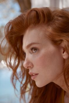 Turkish Women Beautiful, Beautiful Red Hair, Turkish Beauty, Beautiful Redhead, Beautiful Girl Image, Dark Blonde Hair Color, Red Hair Woman, Elcin Sangu, European Girls