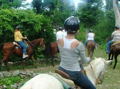 Arenal Rainforest Activities, Central America, Riding Helmets