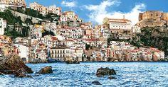 Pontos turísticos na região da Calábria #viajar #viagem #itália #italy