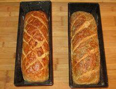 Chleba Naszego: Chleb z zakwasem z ogórków Bread Recipes, Cake Recipes, Bakery Logo, Bread Rolls, Fodmap, Banana Bread, Food And Drink, Pizza, Menu