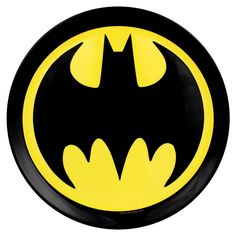 Batman Warner Brothers Party Set Round Logo Plate Pack Of 4 Diner Dc Comics Logo Batman, Superhero Logos, Batman Superhero, Baby Batman, Marvel Logo, Dc Comics, Batman Wallpaper, Batman Birthday, Round Logo