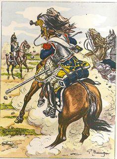 French; 9th Cuirassiers, Tenue de Campagne, 1805