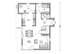 Haus ALTO SD.400.2 Grundriss EG von Heinz von Heiden