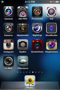 camera apps explained