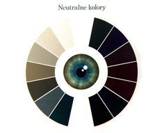 analizavkolorystyczna Eye Colors, Color Harmony, Complimentary Colors, Color Theory, Smokey Eye, Fashion Advice, Hair Inspiration, Makeup Tips, Palette