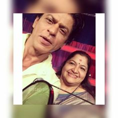 Mrs.Ks.chithra and SRK