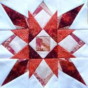 LBQ Starburst Quilt Along: Block #9