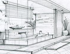 手绘-度假酒店设计方案 on Behance