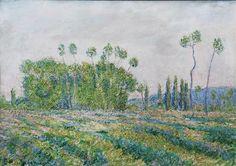 Blanche Hoschede Monet, Peupliers des Ajoux, Giverny