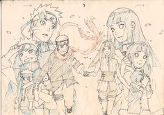 Find images and videos about anime, naruto and hinata on We Heart It - the app to get lost in what you love. Naruto Vs Sasuke, Anime Naruto, Art Naruto, Naruto Sketch, Naruto Drawings, Naruto Cute, Naruto Shippuden Anime, Anime Sketch, Manga Anime