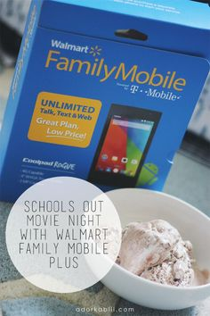 """I am already getting the """"Mom, I'm bored"""" stuff. It's gonna be a long summer if that's the case. Thanks to Walmart Family Mobile Plus we get to enjoy a Free Movie on Vudu. #DataAndAMovie #Ad"""