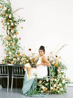 Bursting with Creativity in Ontario Canada! | The Perfect Palette Art Gallery Of Hamilton, Ontario, Wedding Colors, Floral Design, Editorial, Wedding Day, Palette, Wedding Inspiration, Canada