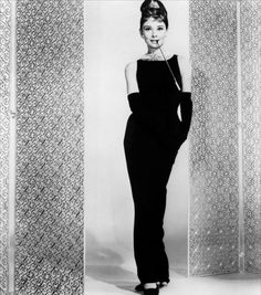 "the infamous ""Breakfast at Tiffany's"" dress..."