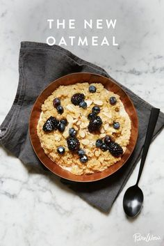 Introducing the New Oatmeal. It's all about quinoa and almond milk.